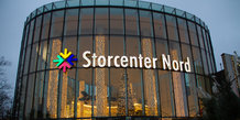Jul i Storcenter Nord